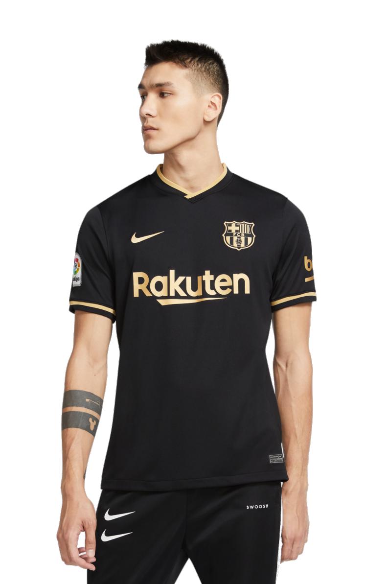 T Shirt Nike Fc Barcelona 2020 21 Breathe Stadium Away R Gol Com Football Boots Equipment