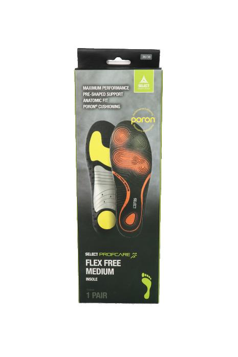 Vložky do obuvi Select Flex Free Medium