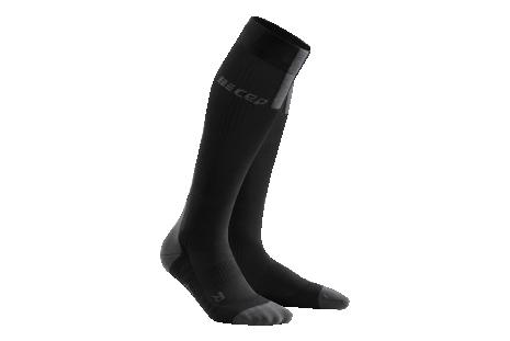 Kompresné ponožky CEP Run Socks 3.0 čierna/šedá