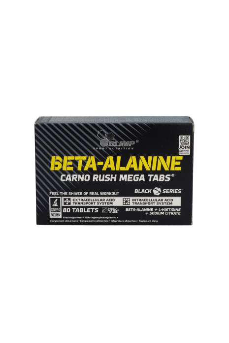 Olimp Rush Mega Tabs Black Series BETA-ALANINE CARNO
