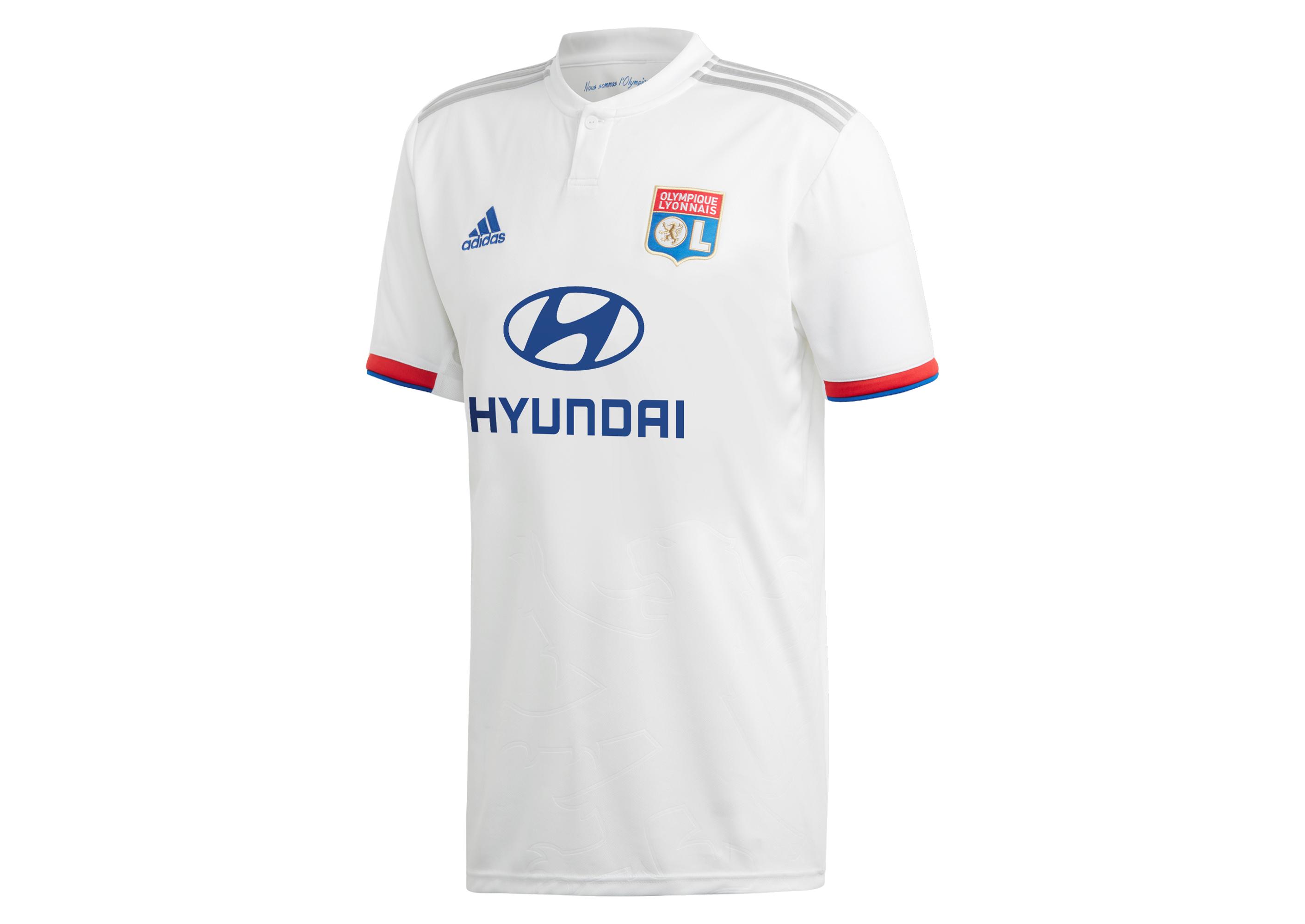 fiabilidad menta calentar  Football Shirt adidas Olympique Lyon 2019/20 Home CM1236 | R-GOL.com -  Football boots & equipment