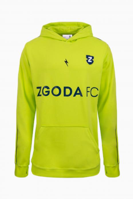 Mikina CLEANT X ZGODA FC HOODIE