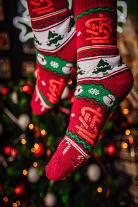 Vánoční ponožky  ŁKS Łódź