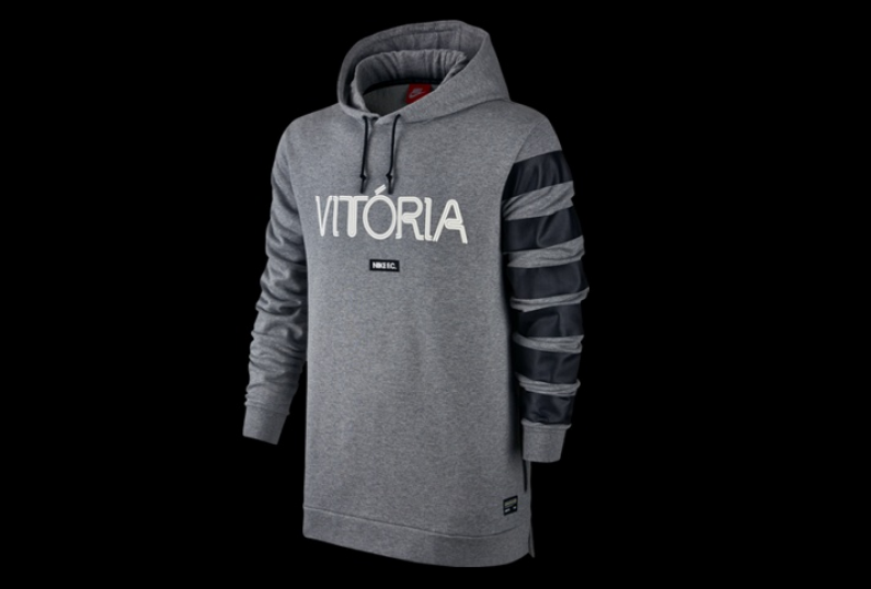 nike F.C Futbol Club Vitoria HOODIE GREY US MENS HOODIE US SIZES 802411-091