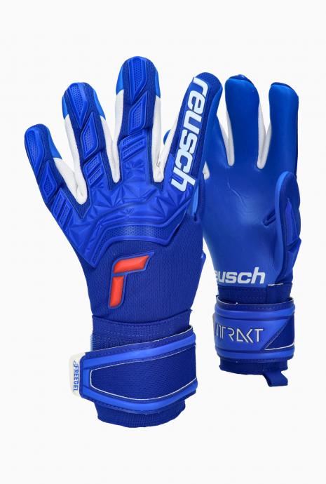 Brankářské rukavice Reusch Attrakt Freegel Silver Junior