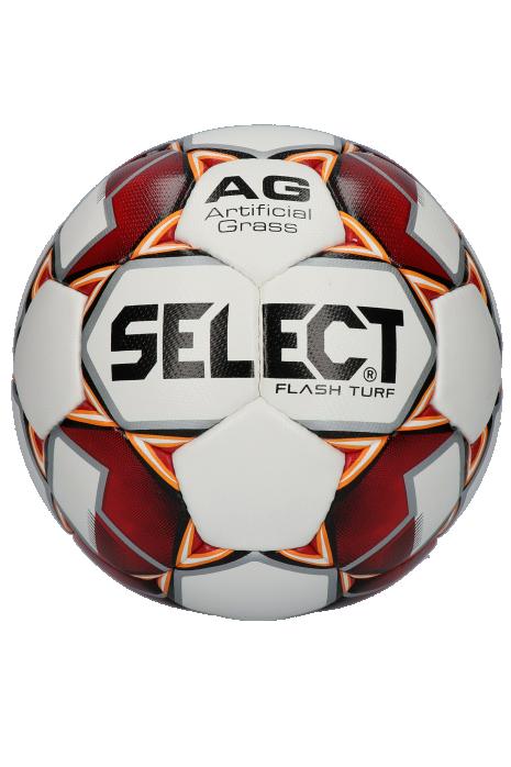 Míč Select Flash Turf 2019 White velikost 5