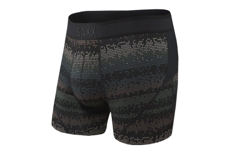 Boxeri SAXX Boxer Brief Black Frequency