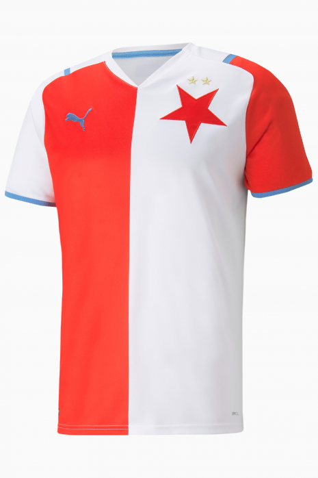 Koszulka Puma SK Slavia Praga Domowa Replica 2021/22