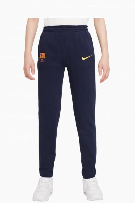 Nohavice Nike FC Barcelona GFA Fleece BB Junior