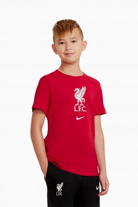 Tričko Nike Liverpool FC Tee Evergreen Crest Junior