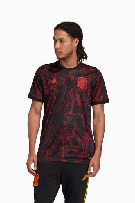 Koszulka adidas FEF Hiszpania 2021 Pre Match