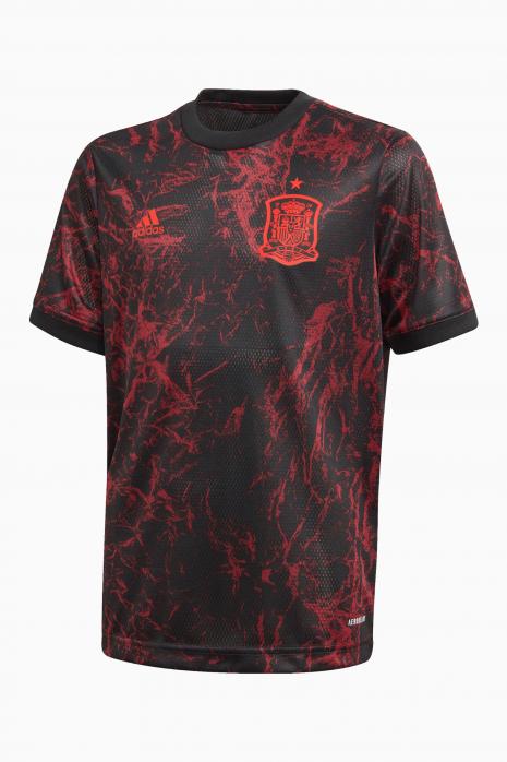 Koszulka adidas FEF Hiszpania 2021 Pre Match Junior