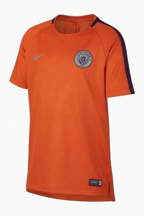 Tričko Nike Manchester City FC 18/19 Dry Squad Top SS GX Junior