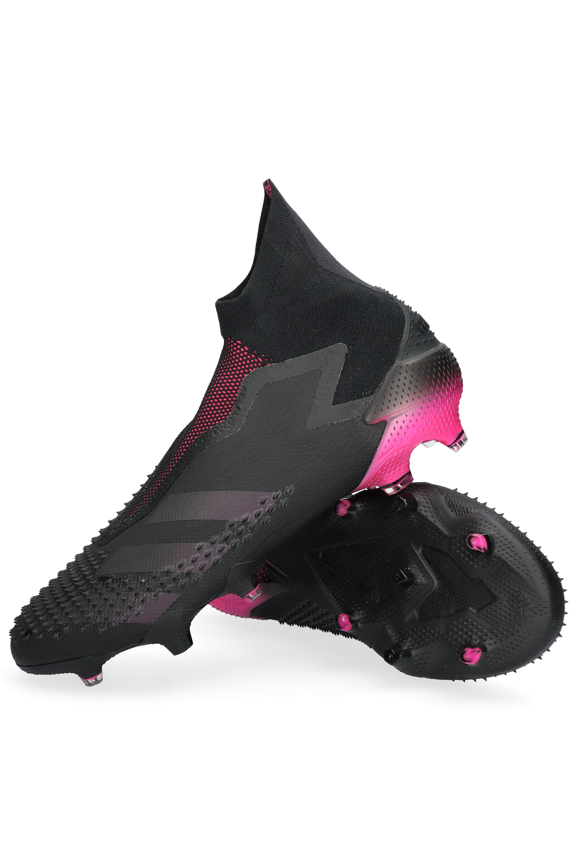 adidas Predator 20 Match Fingersave Goalkeeper Gloves Musta