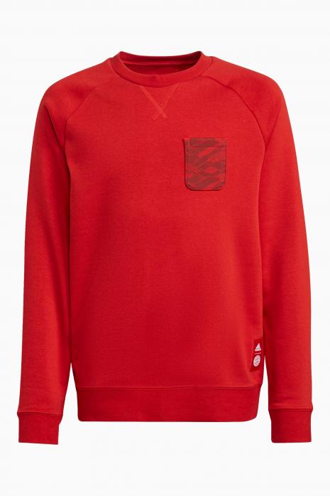 Bluza adidas FC Bayern Crew Junior