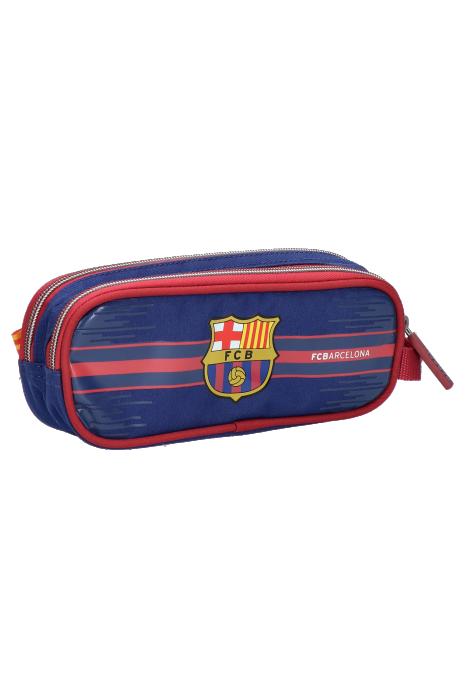 Púzdro na ceruzky s dvoma zipsami FC Barcelona