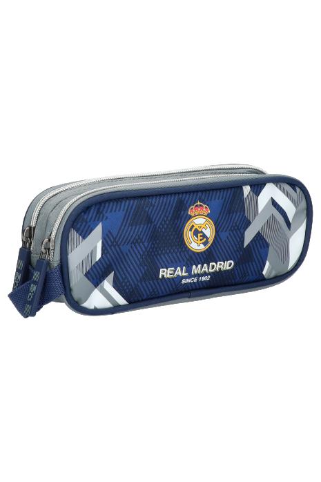 Pouzdro na tužku se dvěma zipy Real Madrid