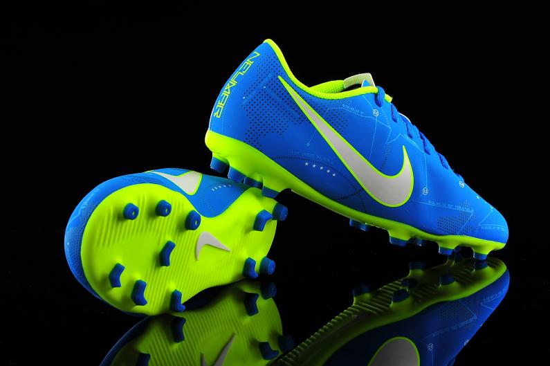 Juniors Boys Nike Mercurial Vortex III NJR FG 921490 400 Football Boots Aqua