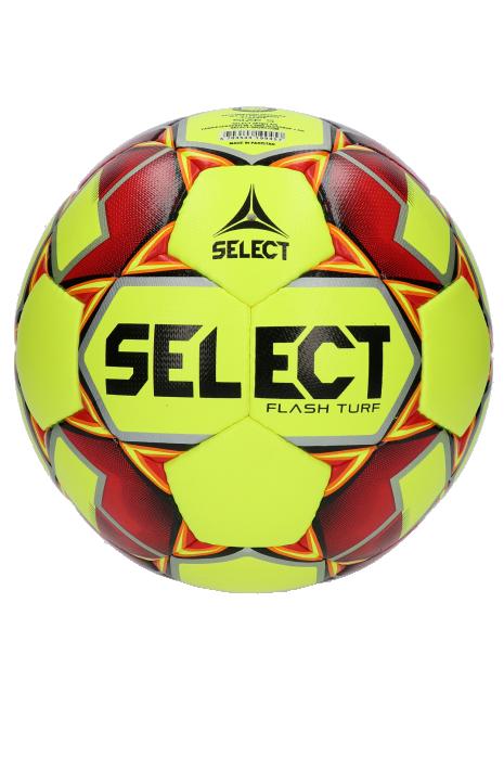 Lopta Select Flash Turf 2019 Yellow veľkosť 4