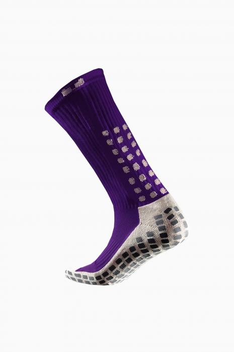 Skarpety piłkarskie Trusox Cusion Purple