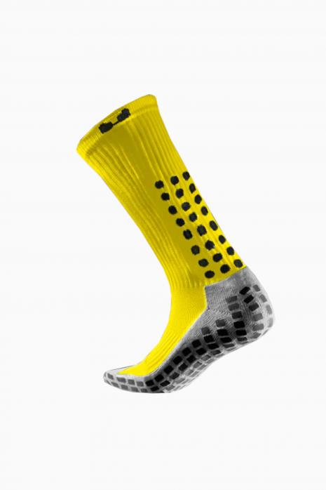 Skarpety piłkarskie Trusox Cusion Yellow