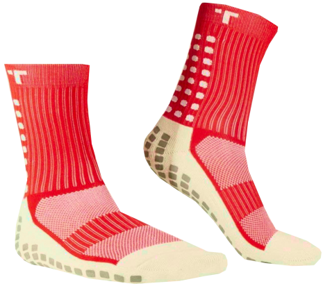 Skarpety piłkarskie Trusox 3.0 Cushion Red
