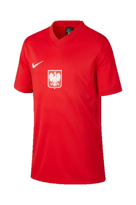 Koszulka Nike Polska Breathe Football Top Wyjazdowa Junior 2020