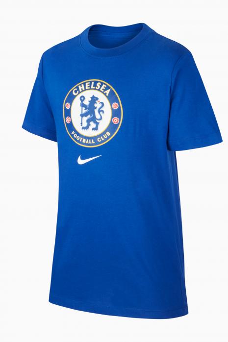 Tričko Nike Chelsea FC 21/22 Tee Evergreen Crest Junior
