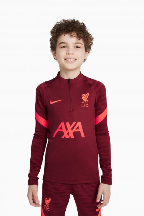 Mikina Nike Liverpool FC 21/22 Dry Strike Dril Top Junior