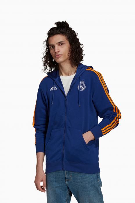Mikina adidas Real Madrid 21/22 3S FZ HD