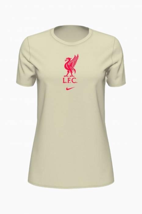 Tričko Nike Liverpool FC 21/22 Dry Tee Evergreen Crest Women