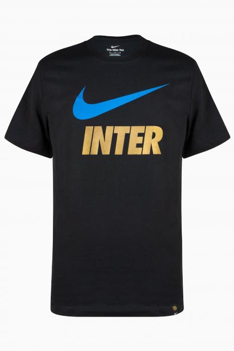 Koszulka Nike Inter Mediolan 21/22 Swoosh Club Tee Junior