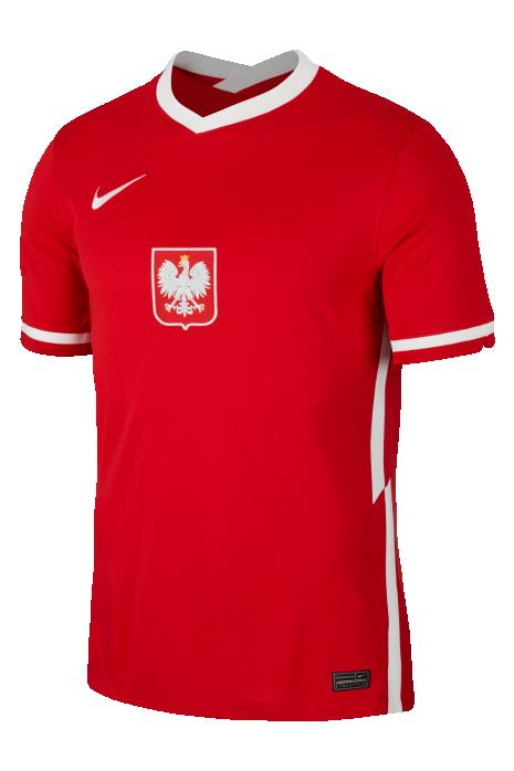 Koszulka Nike Polska Breathe Stadium 2020 Wyjazdowa
