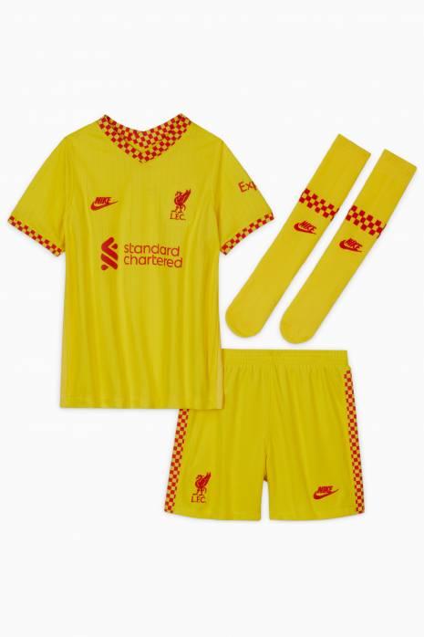 Komplet Nike Liverpool FC 21/22 Trzeci Małe Dzieci
