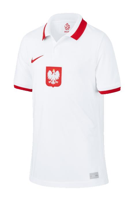 Koszulka Nike Polska Breathe Stadium 2020 Domowa Junior