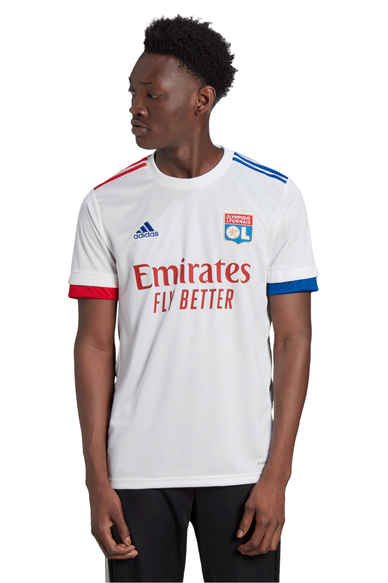 Especificado lámpara secundario  Football Shirt adidas Olympique Lyon 2020/21 Home | R-GOL.com - Football  boots & equipment