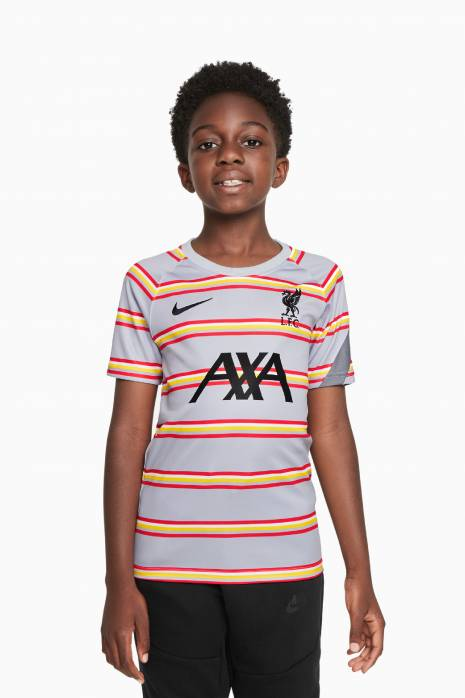 Koszulka Nike Liverpool FC 21/22 Breathe Top PM Junior