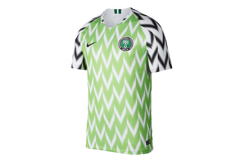 Humano Enredo refugiados  T-Shirt Nike Nigeria Breathe Stadium Home 893886-100   R-GOL.com - Football  boots & equipment