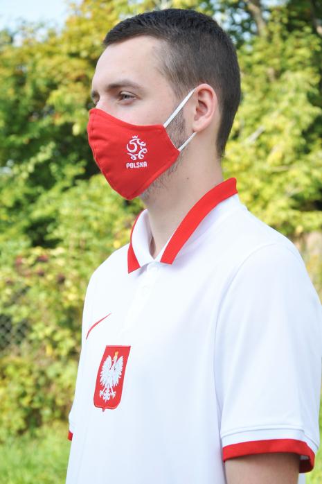 Maseczka ochronna reprezentacji Polski Polska rozmiar L