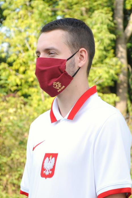 Ochranná maska Poľský národný tím Poľsko
