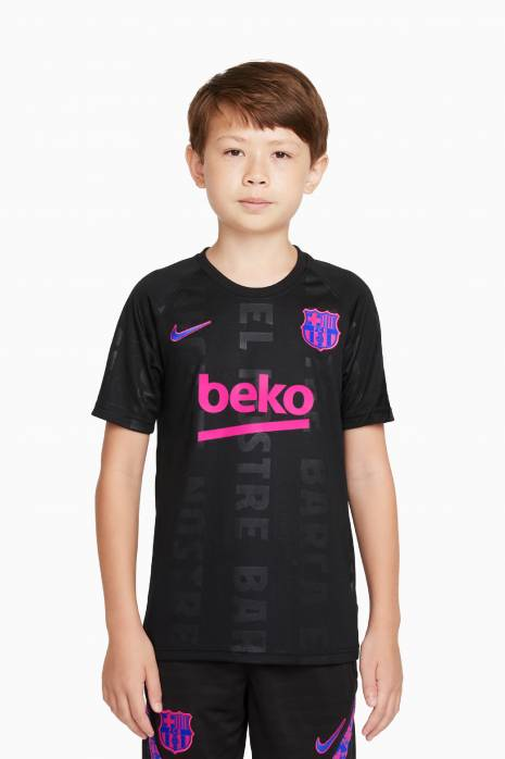 Tričko Nike FC Barcelona 21/22 Breathe Top PM Junior