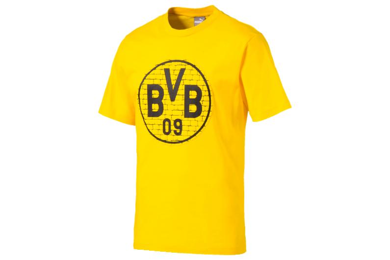 T Shirt Puma Borussia Dortmund Fan Tee 752866 11 R Gol Com Football Boots Equipment