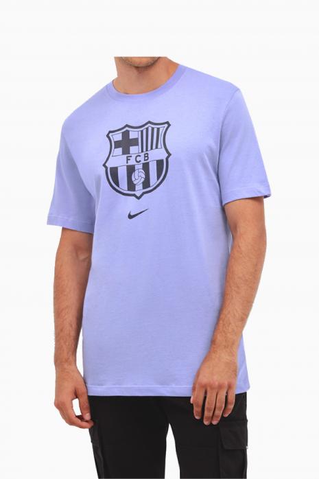 Tričko Nike FC Barcelona 21/22 Tee Evergreen Crest Junior