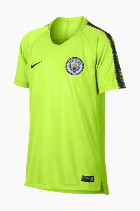Tričko Nike Manchester City FC 18/19 Squad Top SS Junior