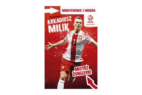 Książka Mistrz żonglerki - Arkadiusz Milik