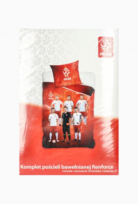 Sada posteľnej bielizne Poľský národný tím 160x200 + 70x80