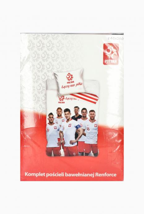 Komplet pościeli reprezentacji Polski 140x200 + 70x80