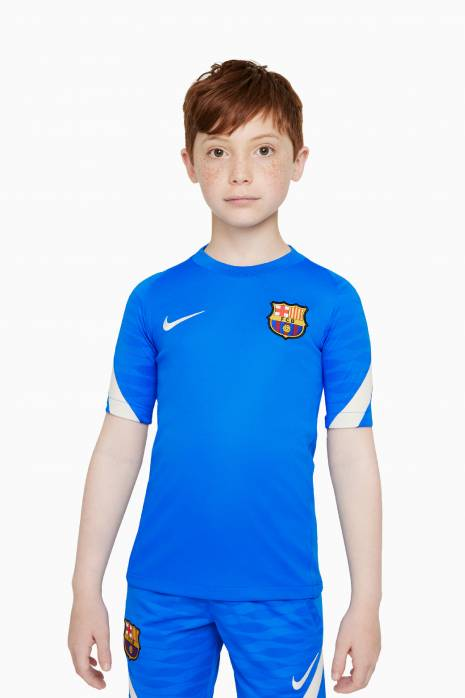 Tričko Nike FC Barcelona 21/22 Breathe Strike Top Junior