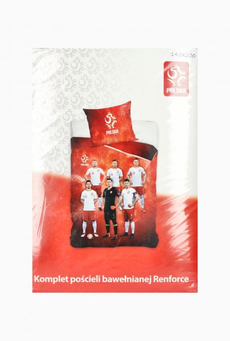 Sada posteľnej bielizne Poľský národný tím 140x200 + 70x80