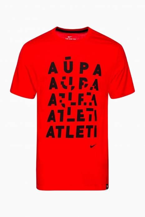 Tričko Nike Atletico Madrid 19/20 Tee Evergreen Tagline